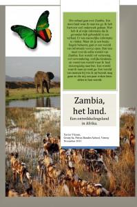 Zambia, het land.