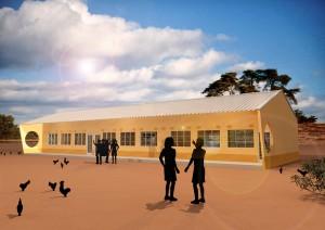 De nieuwe school in 3D zien? Snel verder lezen.