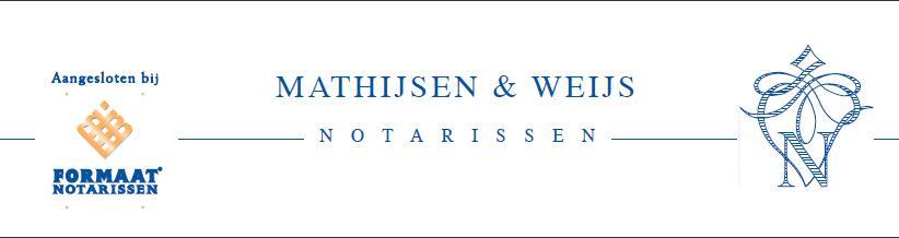 Mathijssen & Weijs