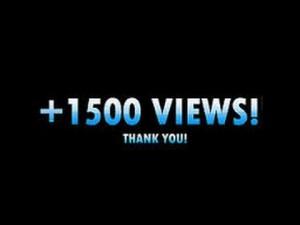 Wie had dit verwacht?! De teller staat plots op meer dan 1500 views!