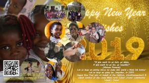 Gelukkig Nieuwjaar Happy New Year (met een verrassing op de kaart and.. a suprise on the postcard)
